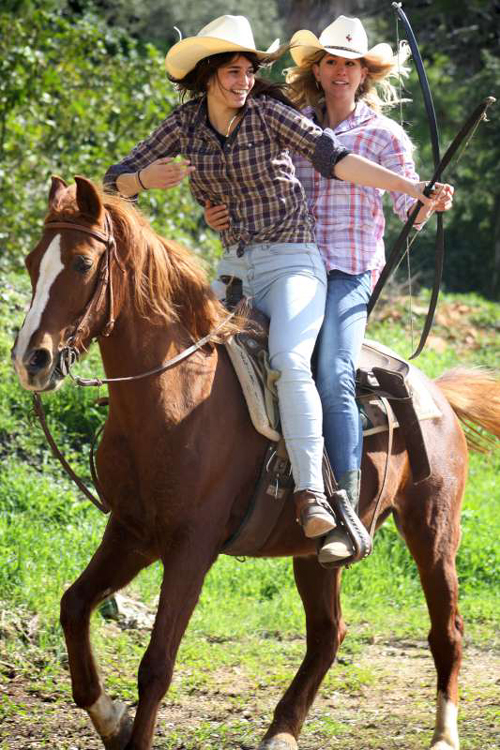 Horseback Riding Activites at King David Stables near Jerusalem Israel